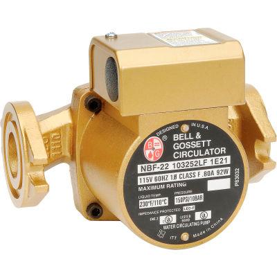 Wet Rotor Series Bronze Circulator NBF-22 Pump 103252LF - 1/25 HP