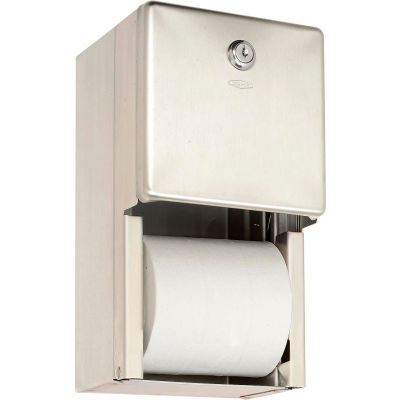 Bobrick® ClassicSeries™ Surface Mounted Multi-Roll Tissue Dispenser - B2888