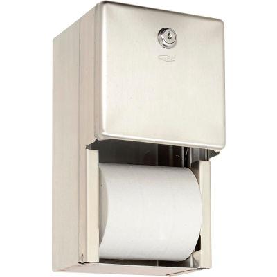 Bobrick® ClassicSeries™ Surface Mounted Multi-Roll Tissue Dispenser - B2888