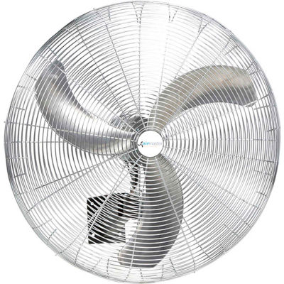 Airmaster Fan UP18LW16-S8 18 Inch  Wall  Fan 1/5 HP 2600 CFM , Non-Oscillating