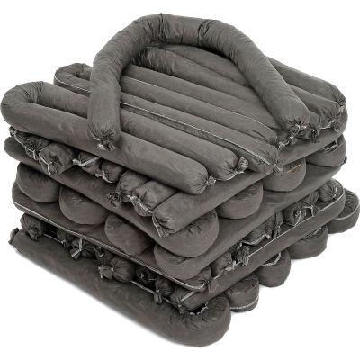 "Chemtex S4G Absorbent Socks, Universal, 3"" x 4', 30/Pack"