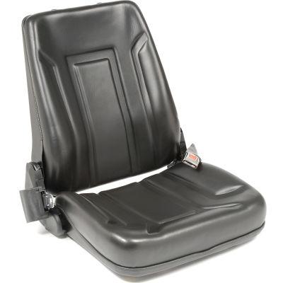 Deluxe Forklift Seat LTSD-V - Vinyl with Seat Belt