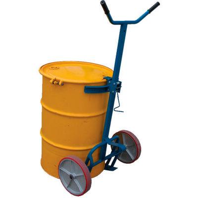 Barrel-Drum Truck DBT-1200-P Polyurethane Wheels 800 Lb. Capacity