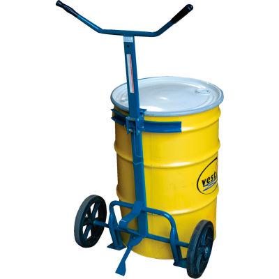 Barrel-Drum Truck DBT-1200 Rubber Wheels 800 Lb. Capacity
