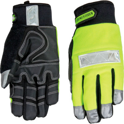 High Visibility Performance Gloves - Safety Lime - Winter - Medium