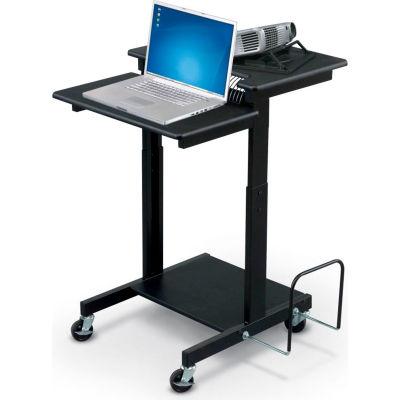 "Balt® 85052 Web AV Cart, 38-1/2""- 44-1/2""H x 24""W x 31""D, Black"