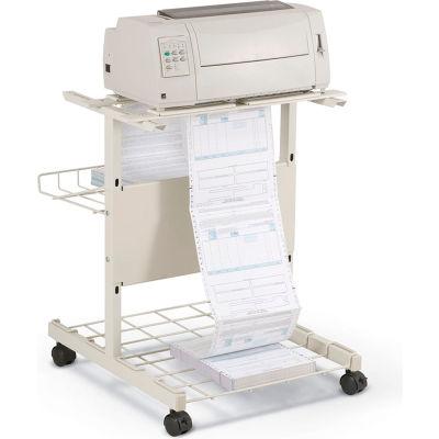 "Balt® 21701 Adjustable Printer Stand, 27""H x 35""W x 29""D, Gray"