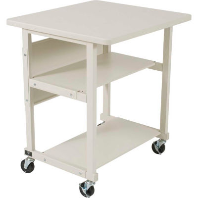 "Balt® 22601 LB-PR All-Purpose Stand, 27-1/2""H x 32-1/2""W x 25""D, Gray"