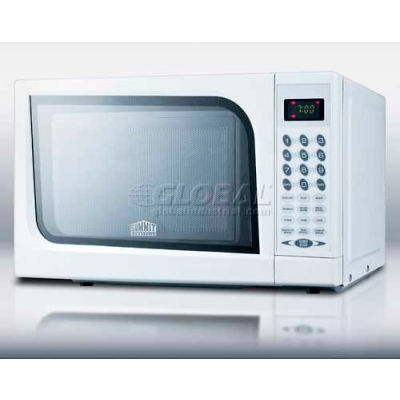 Summit® SM901WH, Microwave Oven, 0.7 Cu. Ft., 900 Watts, KeyPad Control