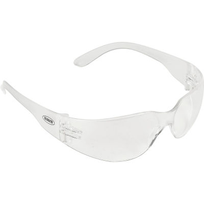 IProtect® Safety Glasses, ERB Safety 17510 - Clear Frame, Clear Anti-Fog Lens