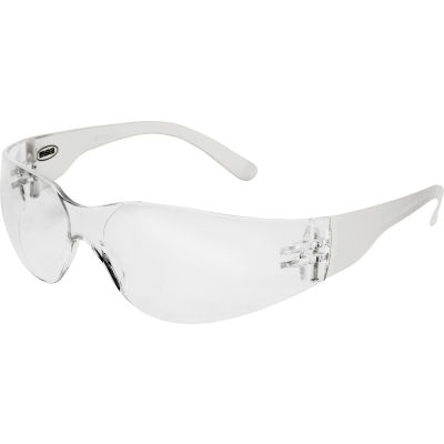 IProtect® Safety Glasses, ERB Safety 17940 - Clear Frame, Clear Lens - Pkg Qty 12