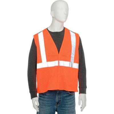 Aware Wear® ANSI Class 2 Economy Mesh Vest, 61434 - Orange, Size L