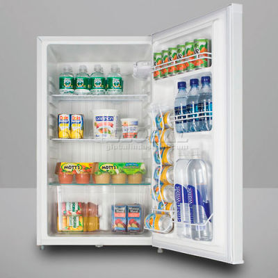 Summit FF511L Counter Height All Refrigerator W/Lock 4.1 Cu. Ft. White