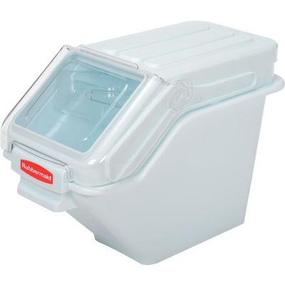 Rubbermaid® FG9G5700WHT, ProSave™ Storage Ingredient Bin, Polypropylene, 6.25 Gal., White