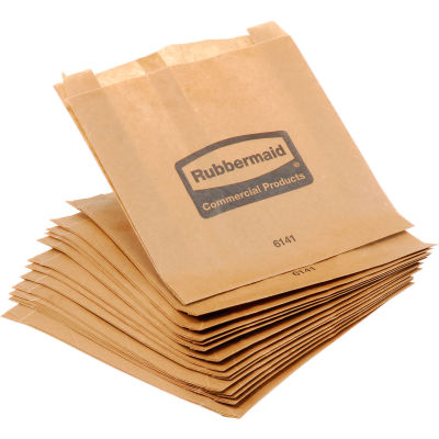 Rubbermaid® Waxed Bags for Sanitary Napkin Receptacle - FG614100 0000