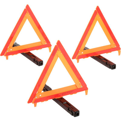 Cortina 95-03-009 3-Piece Triangle Warning Kit