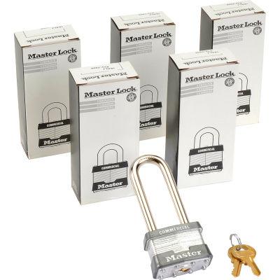 Master Lock® No. 1KALJ General Security Laminated Padlocks - Pkg Qty 6