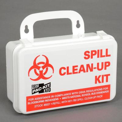 Pac-Kit® Vehicle/Facility BBP Kits, Spill Clean-up Kit