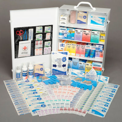 Pac-Kit® 4-Shelf Industrial First Aid Station