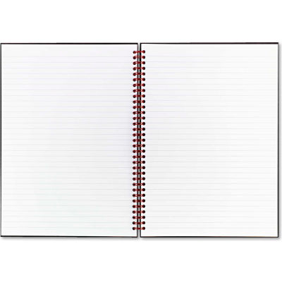 """Black n' Red® Twinwire Hardcover Notebook K67030, 8-1/2"""" x 11"""", 70 Sheets/Pad"""