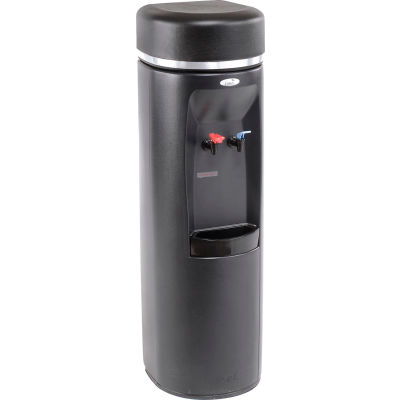 Atlantis Series Point of Use Water Cooler, Two Piece Hot Tank, Hot N'Cold™, Black