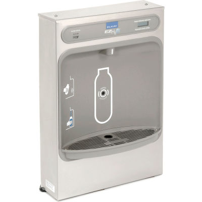 Elkay EZH2O Stainless Steel Surface Mount Water Refilling Station With Filter