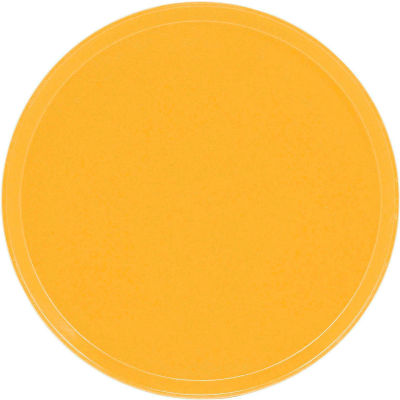 """Cambro 1550171 - Camtray 15.5"""" Round Low,  Tuscan Gold - Pkg Qty 12"""
