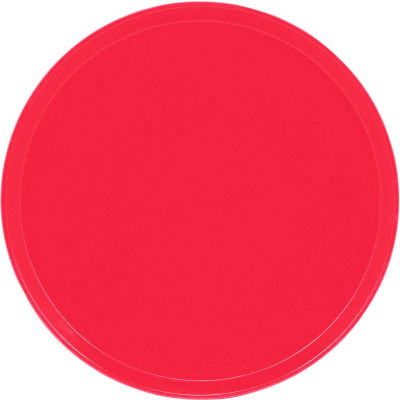 """Cambro 1950521 - Camtray 19.5"""" Round Low,  Cambro Red - Pkg Qty 12"""