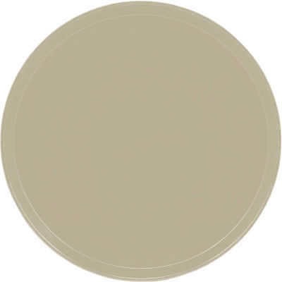 "Cambro 1950104 - Camtray 19.5"" Round Low,  Desert Tan - Pkg Qty 12"