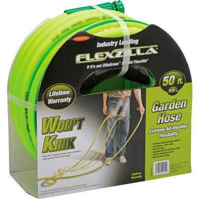 "Legacy™ HFZG550YW Flexzilla 5/8"" X 50' Zillagreen Garden Hose W/ 3/4"" GHT Fittings"