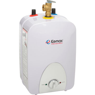 Eemax EMT6 Electric Mini Tank Water Heater - 6.0 gallon 120V, Hardwired