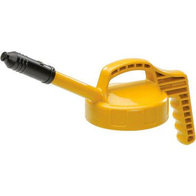Oil Safe Stretch Spout Lid, Yellow, 100309