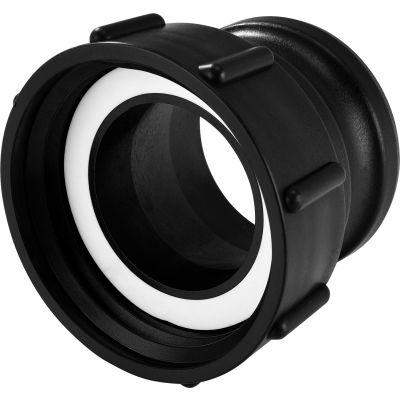 "Global Industrial™ Polypropylene S100x8 Female Buttress x 3"" Part A Camlock Adapter"