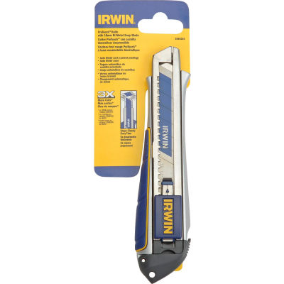Irwin® ProTouch™ Snap Knife 18mm with One Bi-Metal Snap Blade Stick