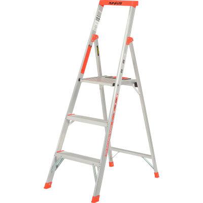 Little Giant® Flip-N-Lite Aluminum Platform Step Ladder - 5' - 15273-001