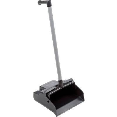 Impact® Lobbymaster® Plastic Lobby Dust Pan - Black, 2602 - Pkg Qty 6