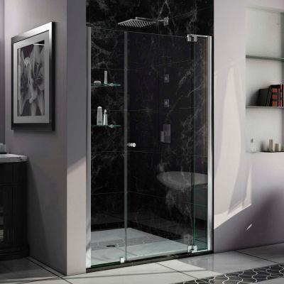 """DreamLine™ Allure Adjustable Pivot Shower Door SHDR-4242728-01, 42"""" to 49"""""""