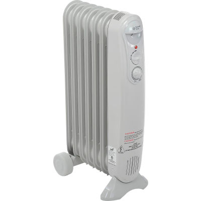 Comfort Zone® Value Sized Oil-Filled Radiator Heater CZ7007J - 1200/700/500 Watt