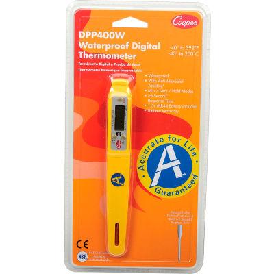 Cooper-Atkins® DPP400W - Digital Thermometer, Waterproof, Pen Style, Auto Shut-Off