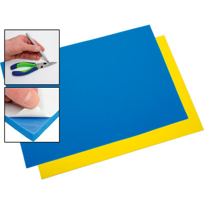 Proto DIYBL Do-It-Yourself Blue/Yellow Foam Drawer Liner Kit