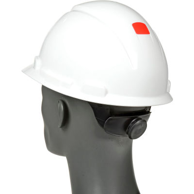 3M™ Hard Hat With UVicator, H-701R-UV, White, 4-Point Ratchet Suspension