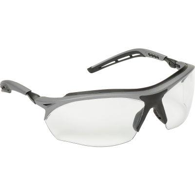3M™ Maxim™ GT Protective Eyewear, Clear Lens, Metallic Gray/Black Frame