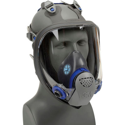 3M™ FX Full Facepiece Reusable Respirator, FF-402, Medium, Scotchgard Protector