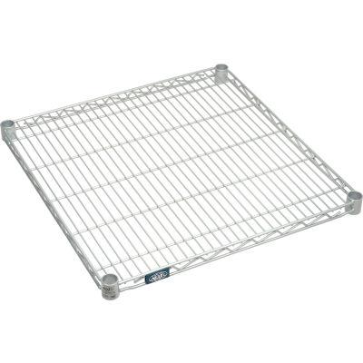 "Nexel® S2424EP Nexelate™ Wire Shelf 24""W x 24""D"