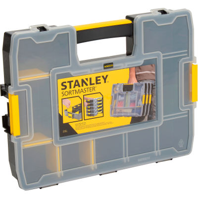 "Stanley Sortmaster™ Junior Nuts And Bolts Organizer, 14-3/4"" x 11-1/2"" x 2-5/8"