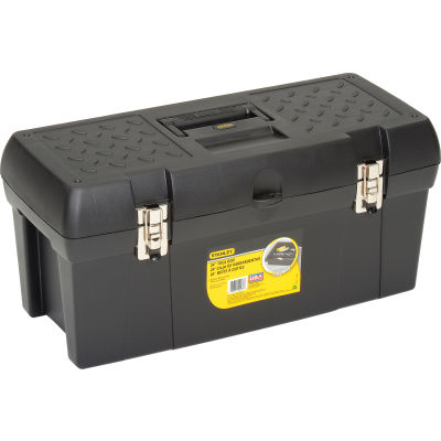 """Stanley Black & Decker STST24113 Stanley Stst24113, 24"""" Series 2000 Tool Box With 2/3 Tray"""