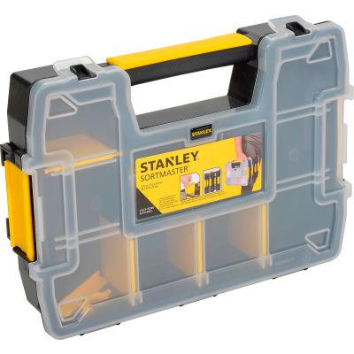 """Stanley STST14021 Sortmaster™ 11-1/2"""" x 8-1/2"""" x 2-1/2"""" Compartment Storage Box"""