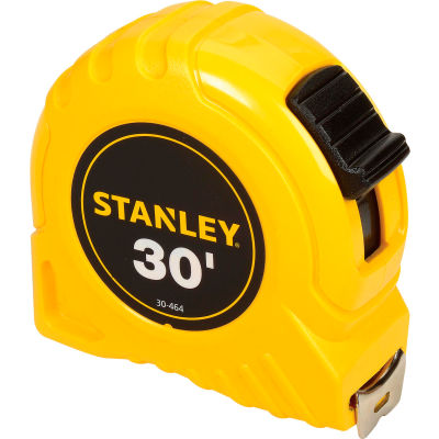 """Stanley 30-464 1"""" x 30' High-Vis High Impact ABS Case Tape Rule"""