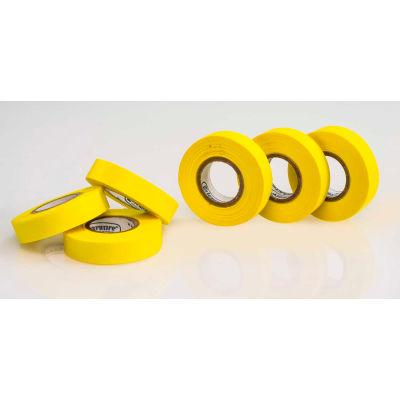 "Bel-Art Write-On™ Label Tape 134810050, 15 Yards x 1/2""W, 1"" Core, Yellow, 6/PK"