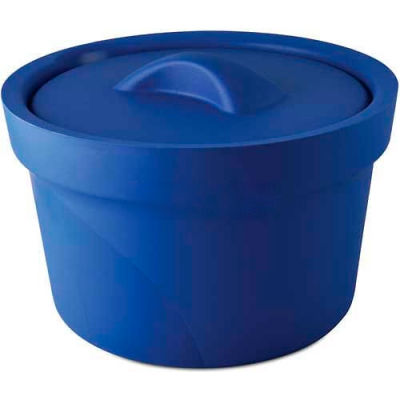 Bel-Art Magic Touch 2™ Ice Bucket with Lid 168072001, 2.5 Liter, Blue, 1/PK